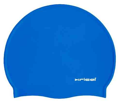 GORRO SILICONA ADULTO XRICAL AZUL REAL