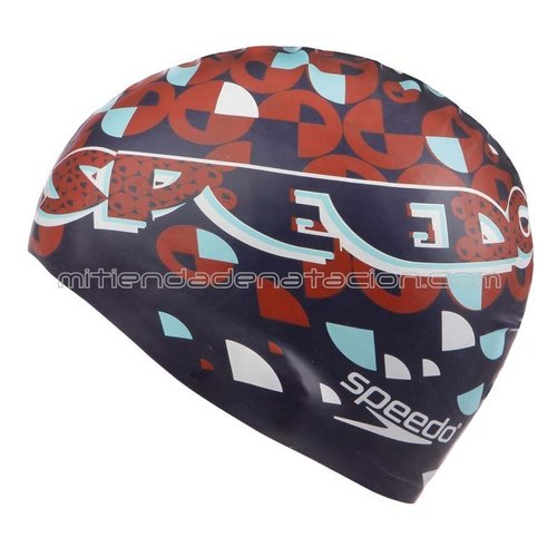 GORRO SILICONA JUNIOR SPEEDO SMOOTH DIVE CAP NAVY