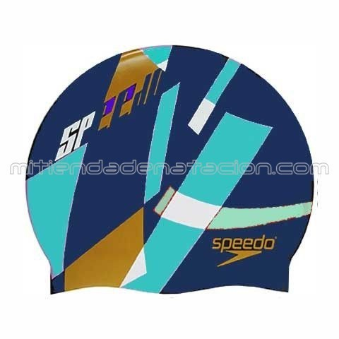 GORRO SILICONA FLUID DIVE SPEEDO NAVY